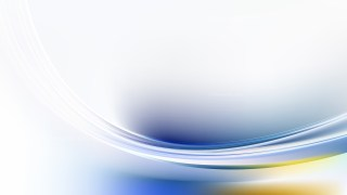 Blue and White Abstract Curve Background Illustration