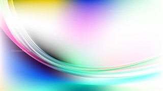 Abstract Colorful Curve Background