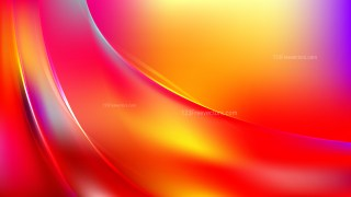 Colorful Abstract Curve Background Vector Image