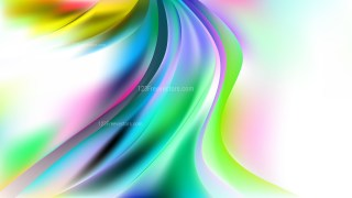 Abstract Colorful Curve Background Vector Art