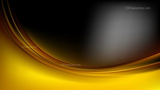 Abstract Cool Gold Curve Background