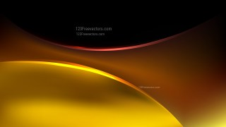 Cool Gold Abstract Wave Background Illustration
