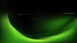 Abstract Cool Green Shiny Wave Background Vector Graphic