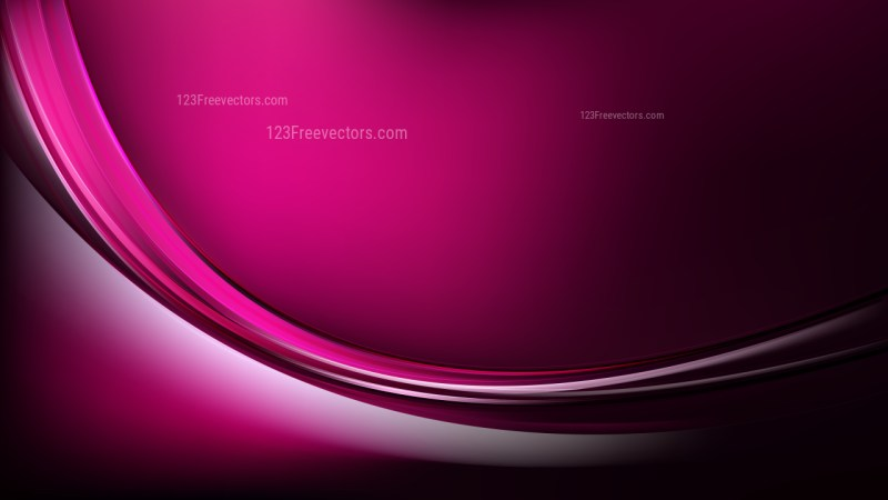 Cool Pink Abstract Wave Background Template Illustrator
