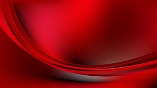 Abstract Cool Red Wave Background Image