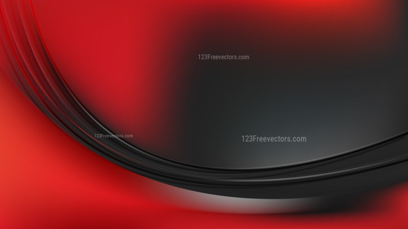 Abstract Cool Red Wavy Background Vector Graphic