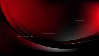 Cool Red Abstract Curve Background