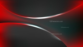 Cool Red Abstract Wave Background Illustration