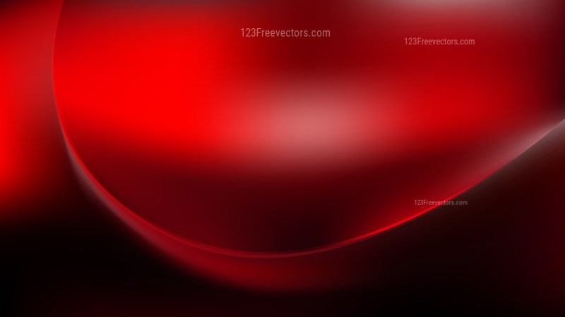 Cool Red Abstract Wavy Background