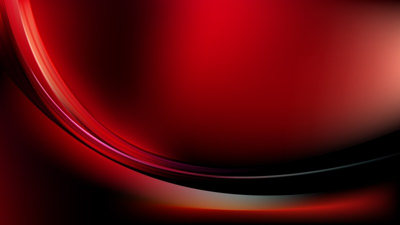Cool Red Abstract Wave Background Template