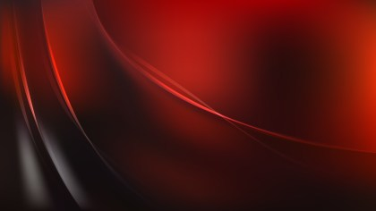 Abstract Glowing Cool Red Wave Background Image