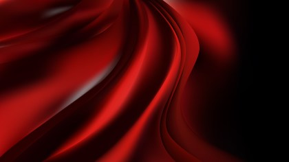 Glowing Cool Red Wave Background Illustration