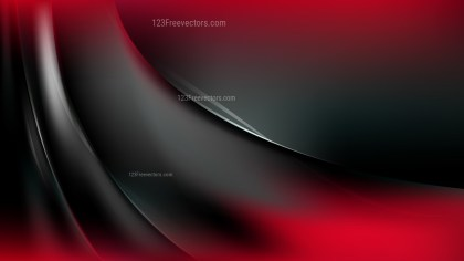 Abstract Cool Red Curve Background