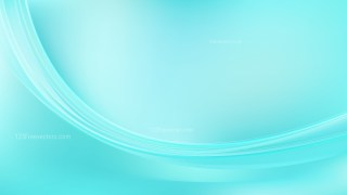 Abstract Cyan Curve Background