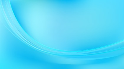 Abstract Cyan Wave Background Template
