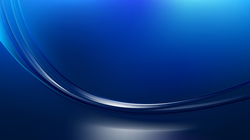 Dark Blue Abstract Wave Background Template