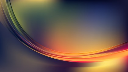 Abstract Dark Color Wave Background