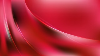 Glowing Abstract Dark Red Wave Background