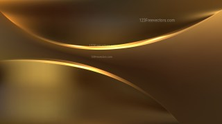 Gold Abstract Wavy Background Graphic