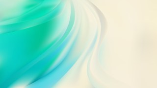 Abstract Green and Beige Wavy Background