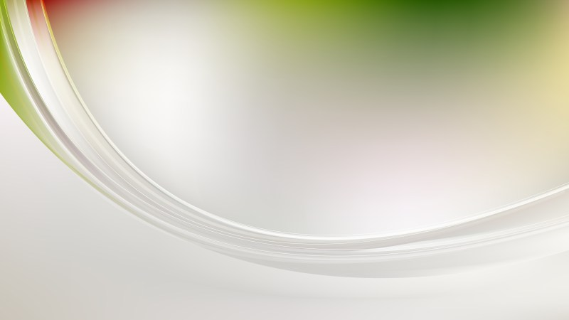Abstract Green and Grey Shiny Wave Background