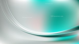 Glowing Green and Grey Wave Background Vector