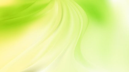 Green and Yellow Abstract Wave Background Image