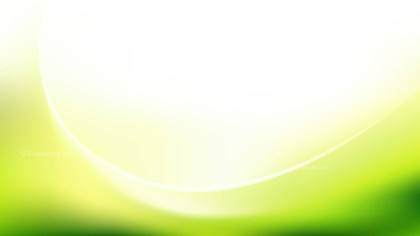 Green Yellow and White Abstract Wave Background Template Design