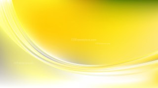 Abstract Green Yellow and White Wave Background