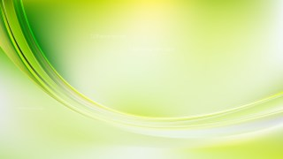 Green Yellow and White Abstract Wave Background Template