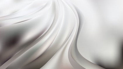 Grey and White Abstract Curve Background Vector Image