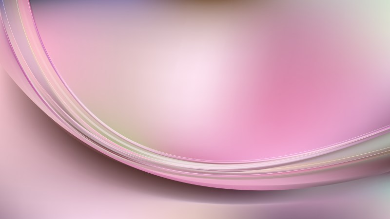 Abstract Light Pink Shiny Wave Background