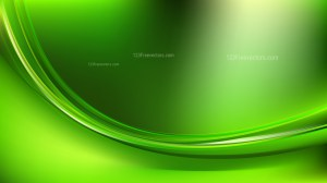 Neon Green Abstract Curve Background Illustration