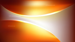 Abstract Orange Shiny Wave Background
