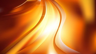 Orange Abstract Wave Background Image