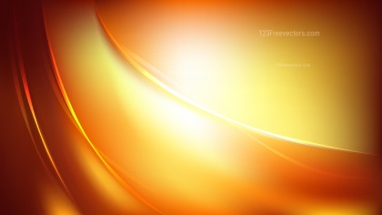 Orange Abstract Curve Background Vector Image