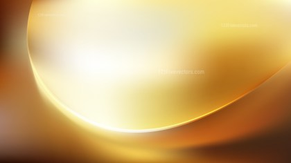 Abstract Orange and White Wave Background