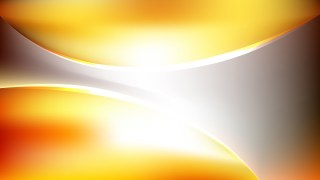 Abstract Orange and White Wave Background Template