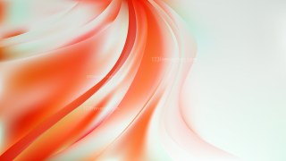 Glowing Abstract Orange and White Wave Background Vector Art