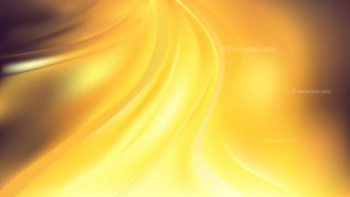 Abstract Orange and Yellow Curve Background Vector Art