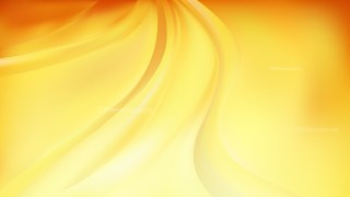 Orange and Yellow Abstract Wavy Background