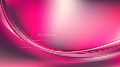 Abstract Pink Wave Background Template Design