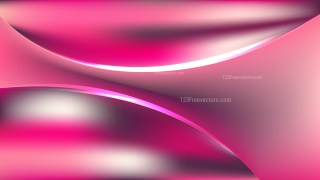 Abstract Pink Shiny Wave Background Illustrator