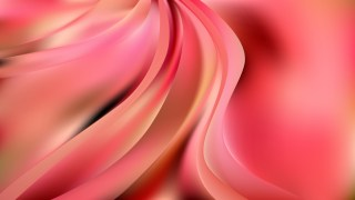 Glowing Abstract Pink Wave Background