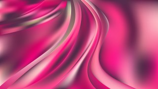 Pink Abstract Curve Background Vector Image
