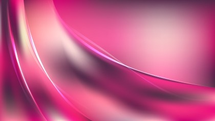 Abstract Pink Shiny Wave Background