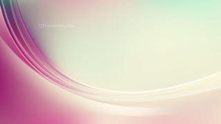 Pink and Beige Abstract Wavy Background