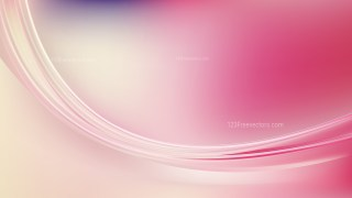 Pink and Beige Abstract Wave Background Template