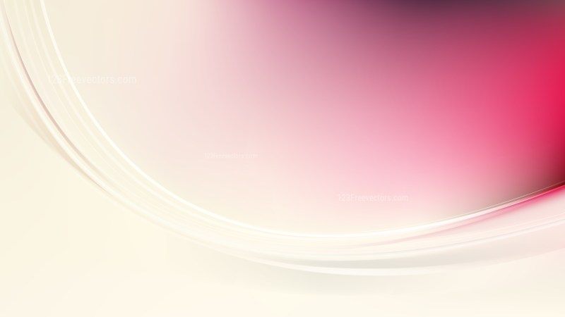 Pink and Beige Abstract Wave Background