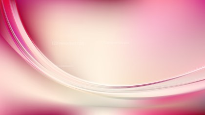 Pink and Beige Abstract Wavy Background Illustrator